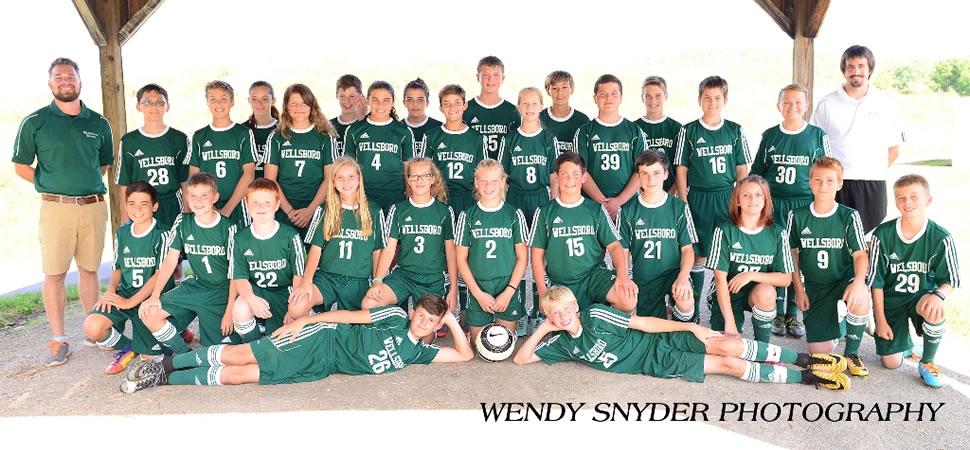 2017 Wellsboro Hornets Middle School Boys Soccer Roster
