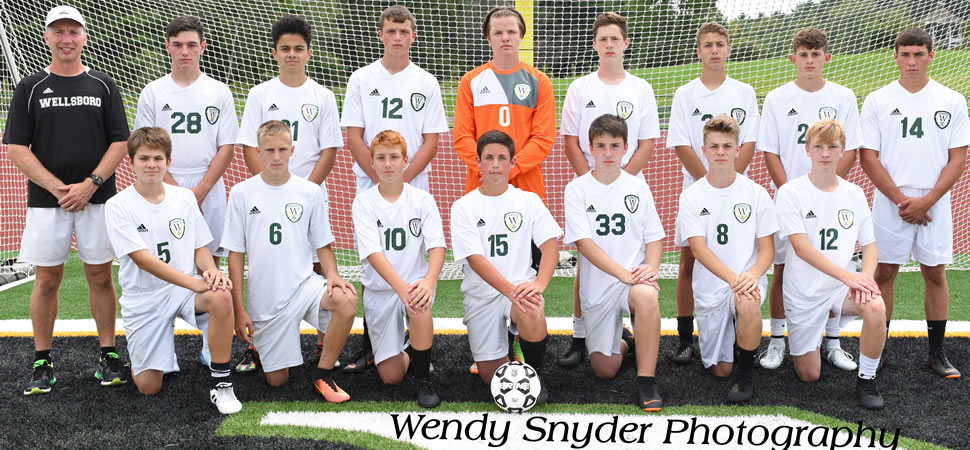 2018 Wellsboro Junior Varsity Boys Soccer Team