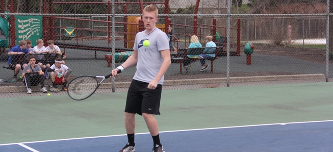 Hornet tennis sweeps North Penn-Liberty.