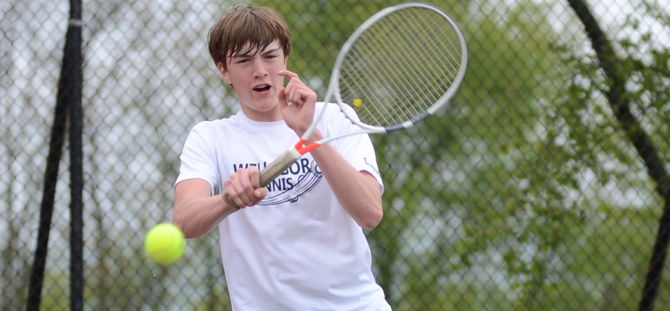 Hornets' tennis season comes to an end at District Doubles.
