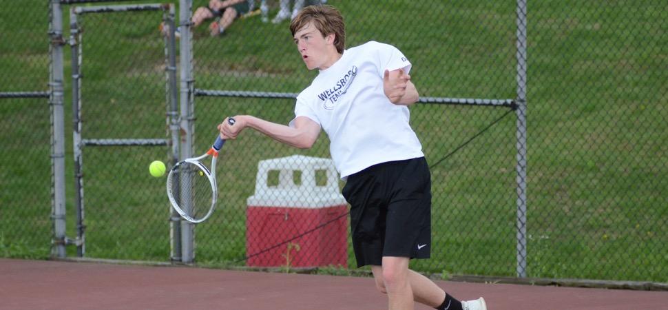 Hornet Tennis falls to Lewisburg in D4 semi-finals.