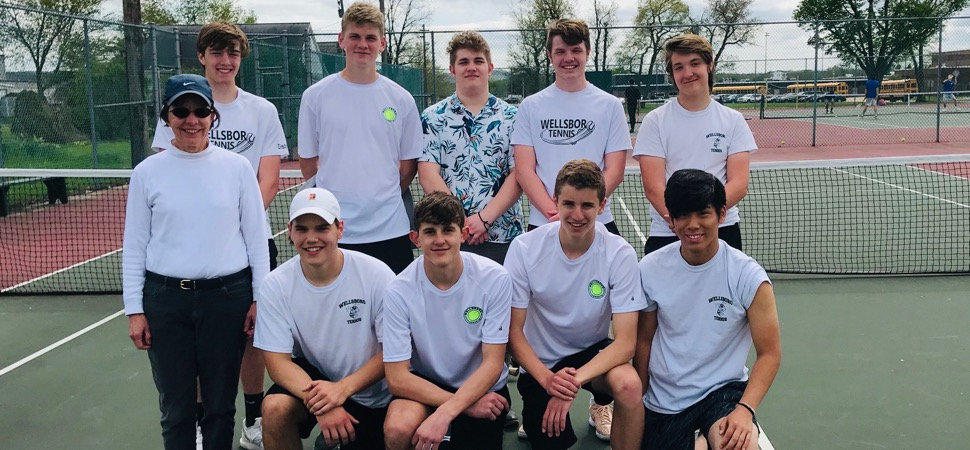 Hornets Tennis tops Loyalsock to open District play.