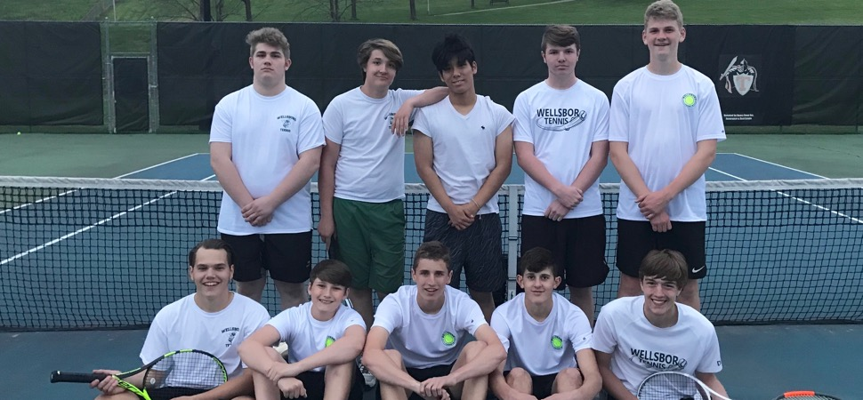 Hornet Tennis tops Towanda to win NTL Championship.