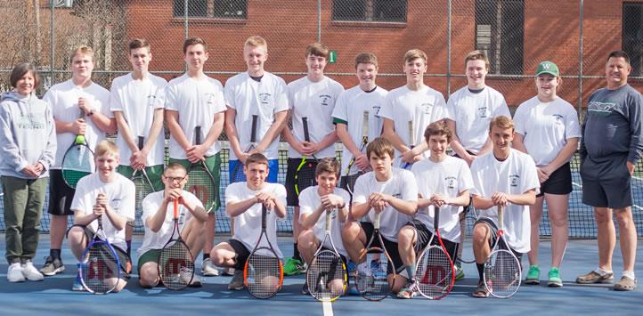2017 Wellsboro Hornets Varsity Boys Tennis Roster
