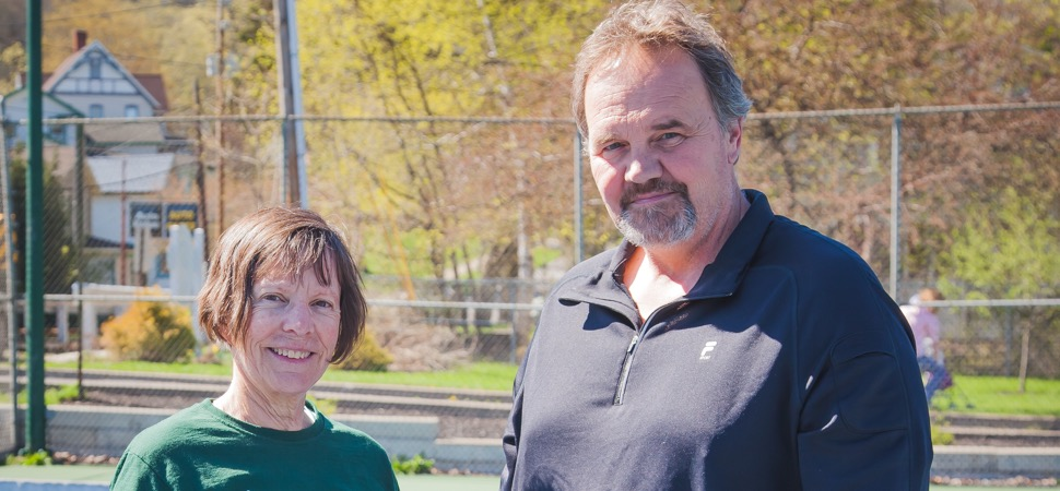 2019 Wellsboro Hornets Boys Tennis Coaching Staff