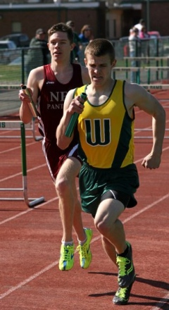 2013 Northeast Bradford vs. Wyalusing and Canton Boys Track
