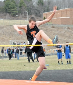 2014 Towanda vs. North Penn and Northeast Bradford Boys Track