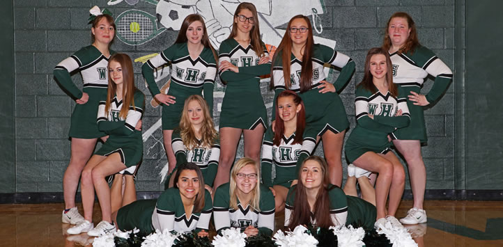 2016 Wellsboro Basketball Cheerleading