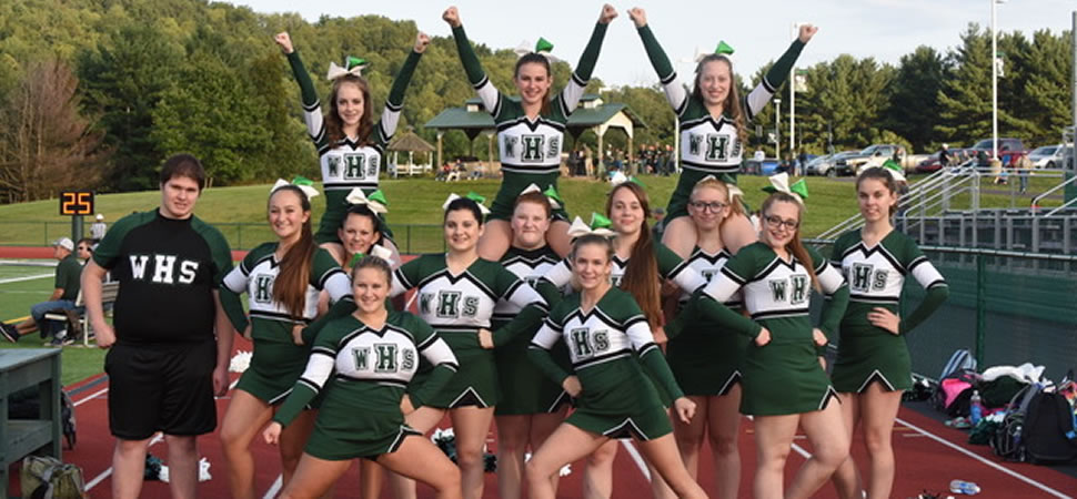 2017 Wellsboro Football Cheerleading Squad