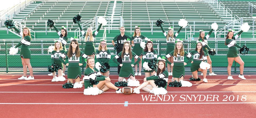 Wellsboro Hornets Football Cheerleading Squad