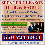 Spencer, Gleason, Hebe & Rague, P.C.