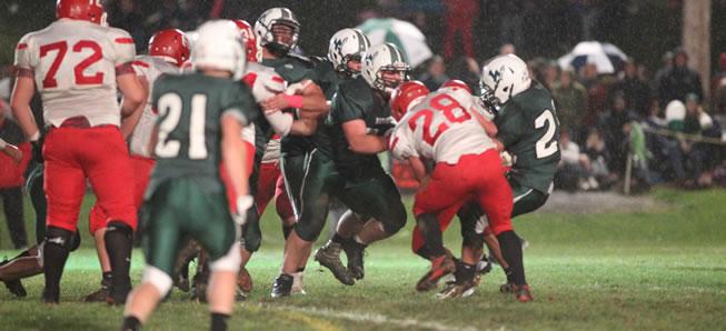 Hornets shut out by Troy on Homecoming.