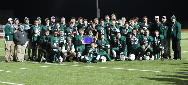 Rise as One: Hornets top North Penn 33-12 for District IV crown.