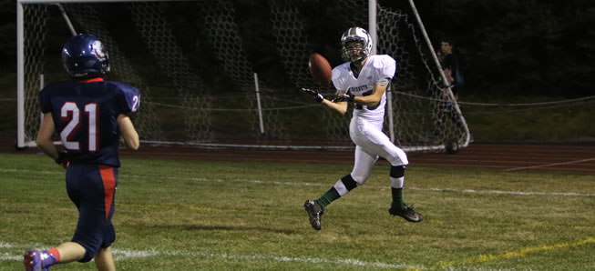 Hornets score 32 unanswered points to beat Sayre, 32-7.