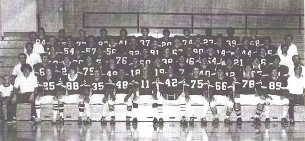 1977 Football team to be honored for 40th reunion of NTL Championship.