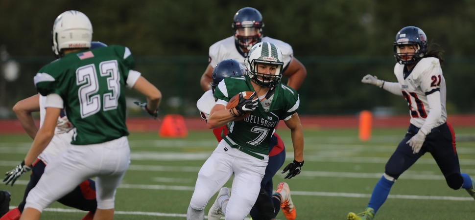 Moser's three touchdowns lead Hornets past Sayre.