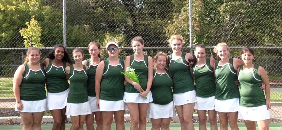 Lady Hornets sweep Liberty on Senior Night.
