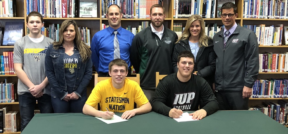 Pietropola, Henry to continue football careers.
