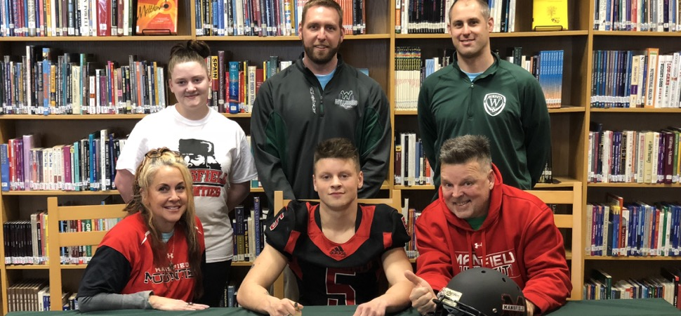 Kozuhowski set to join Mansfield University's sprint football program.