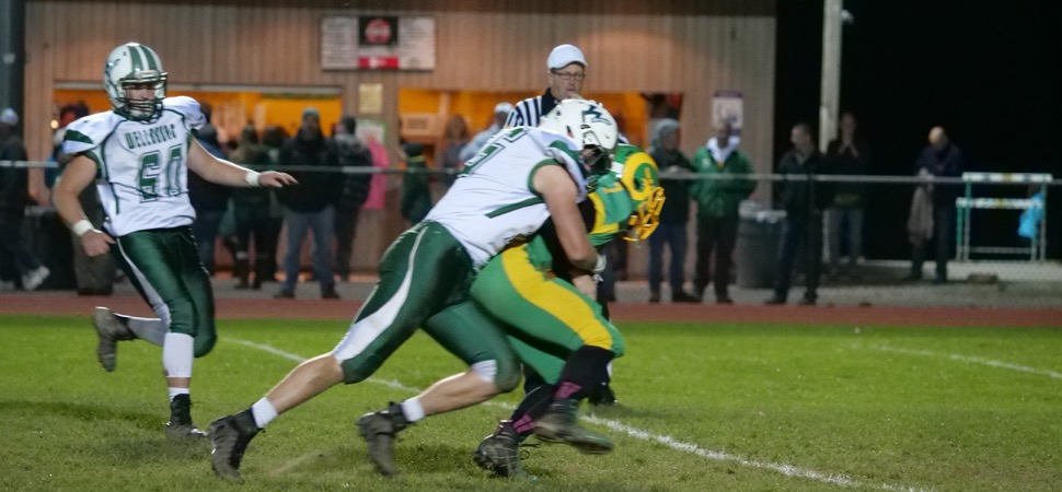 Brown sets record in Hornets 49-22 win over Wyalusing.