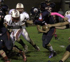 2012 Sayre vs. Canton Football