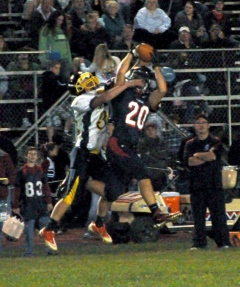 2012 Sayre vs. Cowanesque Valley Football