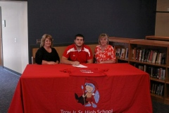 Troy's Brennan headed to Shippensburg