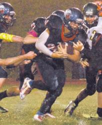 Sayre routs CMVT on homecoming