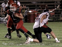 Sherman leads Troy past Sayre