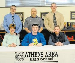 Athens' Barry headed to Misericordia