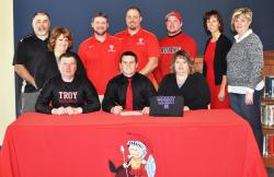 Troy's Schucker to play for D3 National Champ Mount Union
