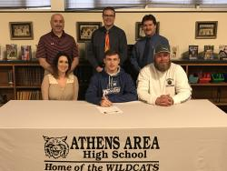 Athens' Keathley signs with Marietta College