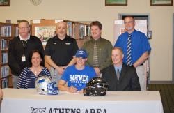 Athens' Kerrick headed to Hartwick College