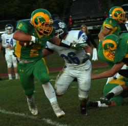 North Penn-Mansfield shuts out Wyalusing, 14-0