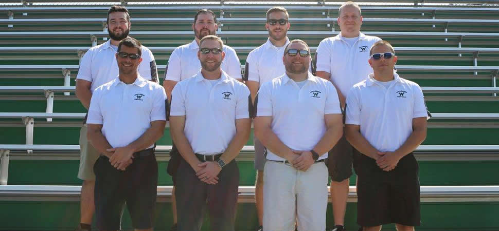 2017 Wellsboro Hornets Football Coaching Staff