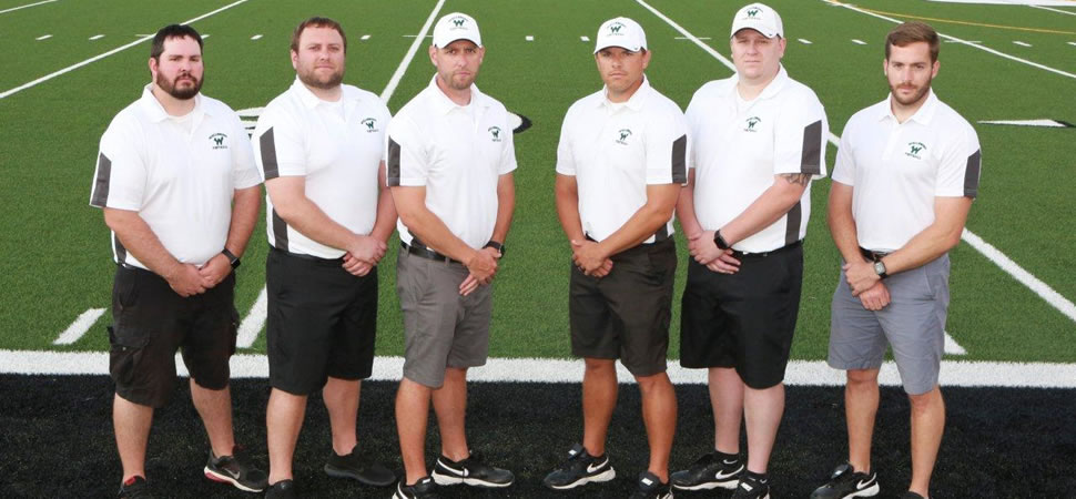 2018 Wellsboro Hornets Football Coaching Staff