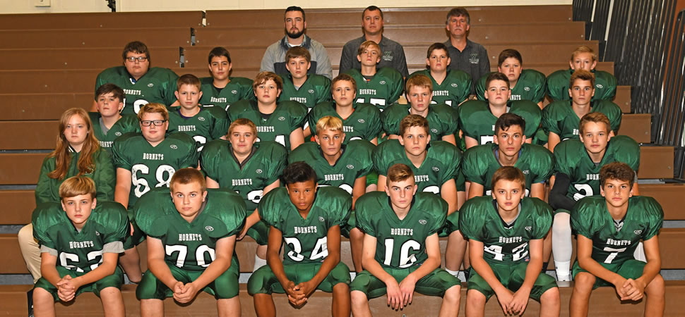 2018 Wellsboro Hornets Middle School Football Roster