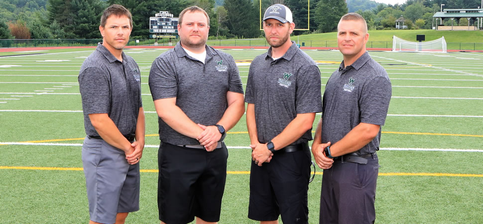 2019 Wellsboro Hornets Football Coaching Staff