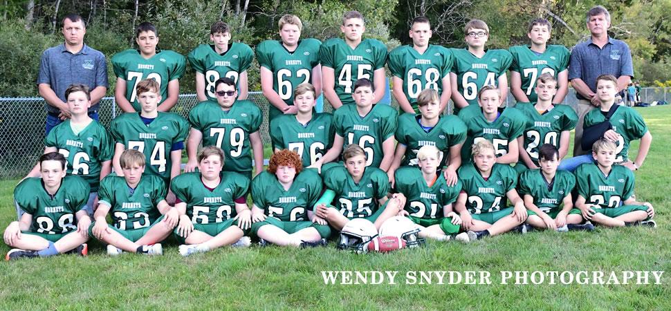 2019 Wellsboro Hornets Middle School Football Roster