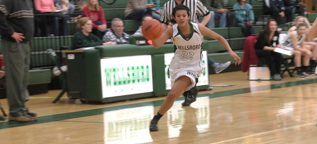Lady Hornets top Wyalusing, 58-31.