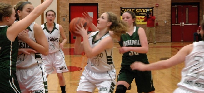 Lady Hornets fall to Hughesville in District semis