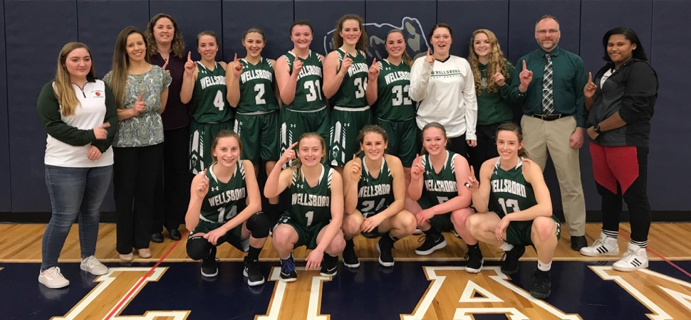 Lady Hornets roll past Williamson to NTL Large School championship.