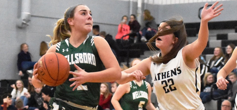 Brought's career-high leads Wellsboro past Athens.