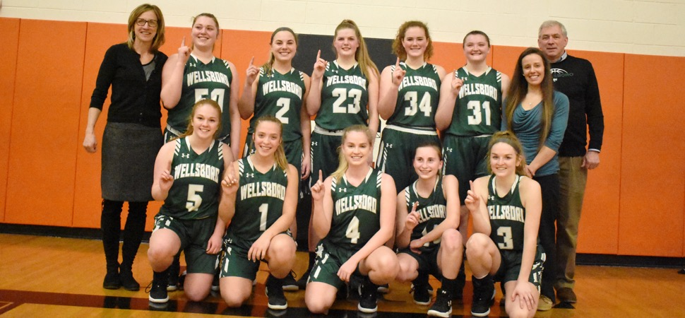Lady Hornets win NTL Large School Division at Towanda.