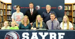 Sayre's Sutryk signs with Stevenson University