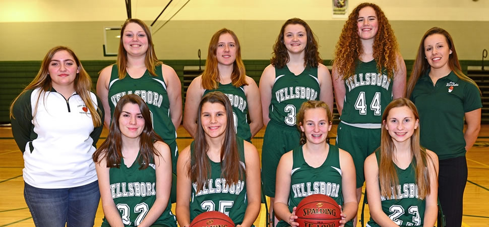 2017 Wellsboro Junior Varsity Girls Basketball Team