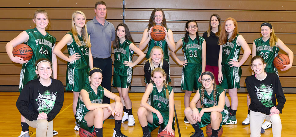 2017 Wellsboro Middle School Girls Basketball Team