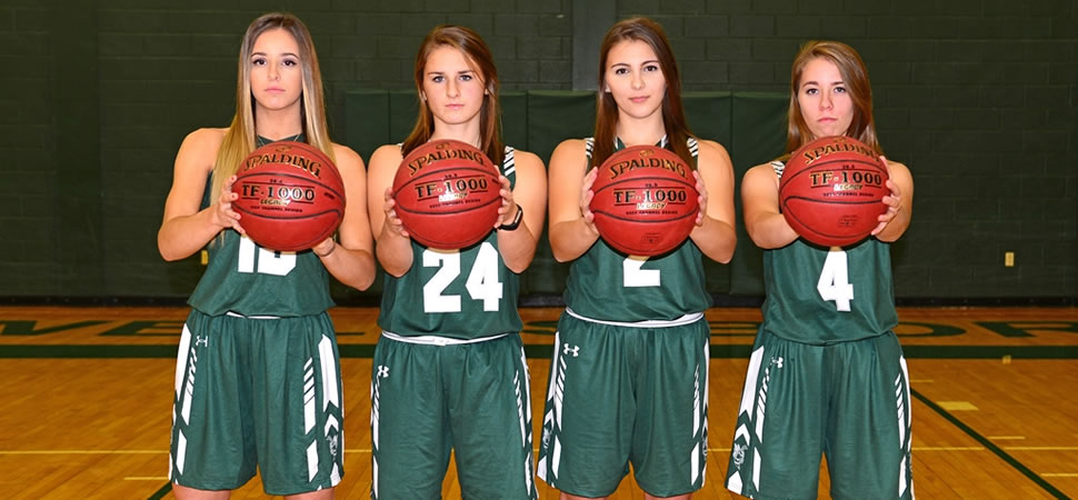2017 Wellsboro Hornets Senior Class Girls Basketball Roster