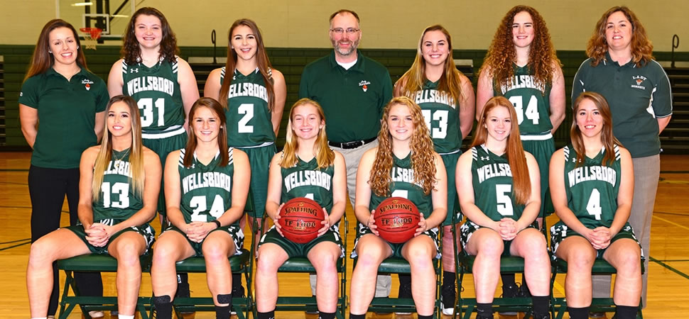 2017 Wellsboro Varsity Girls Basketball Team