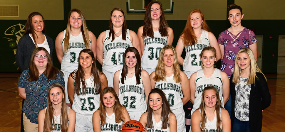 2018 Wellsboro Hornets Junior Varsity Girls Basketball Roster
